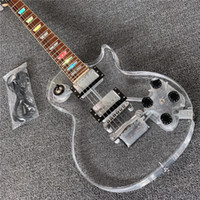 Wholesale acrylic guitar bodies for sale - Group buy New Chinese High Quality Acrylic LED Lamp Guitar Electric Guitar Real Photo Electric Guitar Free Delivery