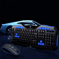 Wholesale laptop durable for sale - Group buy 2 G Wireless Gaming Keyboard Mouse Set Keyboard Durable USB Keyboards DPI Mice Combos With USB receiver For PC Laptop