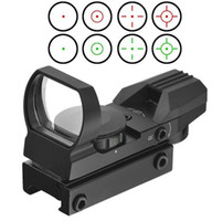 Wholesale red green laser sights resale online - Optics Compact X22X33 Reflex Red Green Dot Sight Scope Reticle for Hunting Tactical Reflex Red Green Laser Reticle
