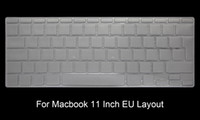 """teclado para a1466 al por mayor-Hrh Tpu Us Eu Cubierta de teclado Protector de piel para Macbook Air 11 13 Retina Pro 12 """"13"""" 15 """"17"""" Para nuevo Mac Imac y teclado mágico T190619"""