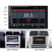 Wholesale 7 quot Din Android Car Stereo Radio GPS Wifi G G BT DAB Mirror Link OBD