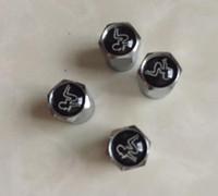 mütze metall abzeichen großhandel-Schönheits-Mädchen-Minimetallreifen-Ventil-Ventil-Reifen-Staubkappen-Kappen MT-Auto-Abzeichen-Emblem-Abzeichen Freies Verschiffen