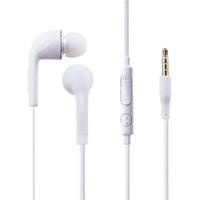 weiße mikrofone großhandel-2019 heiße Schwarz-Weiß-Mode Kopfhörer kabelgebundene Kopfhörer Freisprech-Mikrofon-Headset für Samsung andere kabelgebundene Kopfhörer