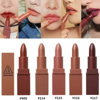 Wholesale korea lipstick resale online - 3CE Eunhye House Stylenanda Mood Recipe Matte Lipstick Korea Makeup Cosmetics None stick Cup