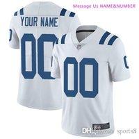 tamaño niños fútbol al por mayor-Custom Men Womens Youth Kids Jersey Vikings Dolphins Chiefs Rams Jaguars Colts Chargers Minnesota Miami Camisetas de fútbol americano de cualquier tamaño