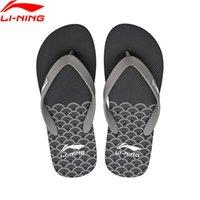 li ning zapatos al aire libre al por mayor-(Despeje) Li-Ning Men Sandalias de playa para exteriores Zapatillas transpirables portátiles Zapatillas deportivas LiNing Light Zapatillas de deporte ALSN007 XMT280
