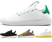 ingrosso sport scarpe casual traspirante uomini donne-adidas New arrive Pharrell Williams x Stan Smith HU Primeknit Tennis men shoes women sneaker sports shoes breathable EUR 36-45