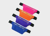 Wholesale waterproof cell phone bag pouch resale online - For Apple iphone Xs Max Xr Outdoor Sports Running Waist Bag Waterproof Cell Phone Pouches pockets Men and Women