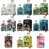Wholesale suitcase online - Flamingo Luggage Protective Covers Luggage Cover Protective Suitcase Trolley case Travel Storage Dust cover styles GGA1468