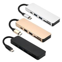 Wholesale usb multi sd card reader for sale - Group buy ALLOYSEED in Multi function Type C HUB USB C to USB3 SD TF Card Reader Type C Adapter Cable for Macbook Accessories