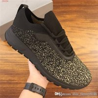 Wholesale sport netting for shoes for sale - Group buy Classic Leather Sneaker Men Running Sport Shoes Stylish slip resistant and Net surface comfortable Trainers for Fashion Men with box