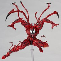 Wholesale spiderman toy movie for sale - Group buy Marvel Red Venom Carnage In Movie The Amazing Spiderman Bjd Joints Movable Action Figure Model Toys C19042101
