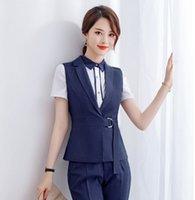 ingrosso usura delle signore-Stili divisa formale donne panciotto signore Lavoro usura business abiti da ufficio