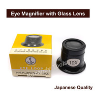 Wholesale watch eye loupe for sale - Group buy Portable X X Watch Jeweller Eye Magnifier Glass Lens Watchmakers Loupe Watch Repair Tools