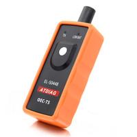 mini usb monitörleri toptan satış-EL50448 Oto Lastik Basıncı Monitör Sensörü OEC-T5 EL 50448 G M / Opel TPMS Sıfırlama Aracı el-50448 Elektronik