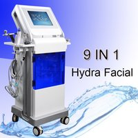 Wholesale whitening spray machine online - 8 in hydrafacial machine hydra microdermabrasion peel facial oxygen spray hydro water microdermabrasion facial machine BIO photoelctric