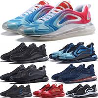 zapatillas sneakers venda por atacado-720 Flair Cushion 2019 Mens Designer tênis de corrida 720s Triplo Preto Mulheres esportes Sneakers Zapatillas Hombre tn Chaussures leve