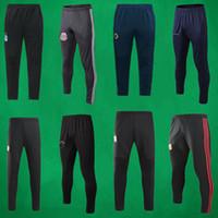 kısa futbol takımı toptan satış-19 20 Erkekler Ulus Takım Futbol Uzun Pantolon Arjantin Açık Futbol Uzun Pantolon İspanya Futbol Pantolon Futbol Şort Belçika Futbol Giyim