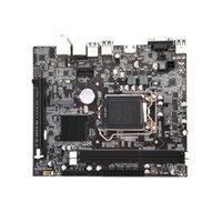 nuevas tarjetas gráficas al por mayor-Freeshipping Nueva placa madre de la placa de PC de escritorio para el zócalo H110 LGA1151 Admite 16 tarjetas gráficas DDR3 Upgrade USB3.0 VGA System Main Board