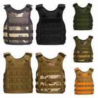 Wholesale outdoor tactical vest for sale - Outdoor Mini Tactical Beer Vest bottle cover cup can holder colorful types camouflage Beverage Cooler Adjustable Shoulder Strap QQA397