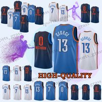 Wholesale george t shirt for sale - Youth and Adult Paul George Russell Westbrook promotion Top quality t shirt