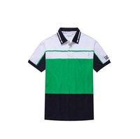 camisetas polo hombre al por mayor-Polos bordados para hombre Polos de moda Monopatín de hip hop Algodón Polos Camiseta superior para hombres