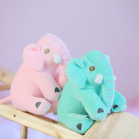 Wholesale anime cat pillows for sale - Group buy 30CM Sleeping Elephant Stuffed Doll Anime Elephant Plush Toy Cartoon Elephant Stuffed Animals Pillow Puppy Toys for Kids