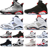 Wholesale bug plush resale online - 2019 Infrared Bred s Mens Basketball Shoes M Reflective Bugs Bunny Tinker Hatfield UNC Oreo Men Sports Sneakers Designer Trainers US7