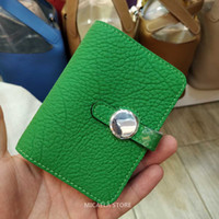 Wholesale big bags for sale for sale - Group buy Hot Sale Ladies Designer Card Wallets Fashion Brand Real Cow Lether High Quality Big Capacity Card Holders Pocket Bag Purse For Women