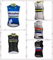 Wholesale merida cycle tops online - Mitchelton MERIDA team Cycling Sleeveless Vest Quick Dry Ropa Ciclismo Bike Clothing Mountain bike new men