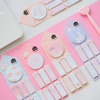 Wholesale sticky bookmarks resale online - Creative Alpaca Llama Pig Memo Pad N Times Sticky Notes Memo Notepad Bookmark Gift Stationery