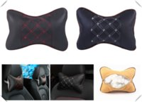 Wholesale fluence car for sale - Group buy Auto safety pillow car headrest breathing seat head rest cushion for Initiale Fluence Alpine Wind R Space