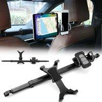 ipad luftwagenhalter großhandel-Auto rücksitz kopfstützenhalter ständer halterung tablet ständer kit für iphone6 für samsung für ipad 4 air hha144