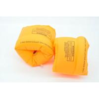 новые игрушки для взрослых оптовых-Горячая распродажа новый ребенок взрослый плавательный браслет руку кольцо плавающие надувные рукава пвх безопасности двойные подушки безопасности игрушки для ванной