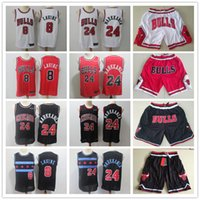 13 maillot de basket rouge achat en gros de-Hommes Chicago