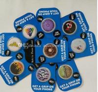 mobiler tablettenhalter großhandel-Neue blaue Karte Handy-Standplatz-heißer Sockel-Universalhandy-Halter für Smarphone Tablette mit Kleinpaket Freie Gewohnheit
