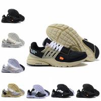 presto air femmes achat en gros de-Haute Qualité 2019 Nouveau Presto V2 BR QS TP Noir Blanc X Chaussures De Course 10 Coussin À Air Prestos Femmes Hommes Off Trainer Sneakers