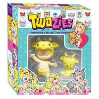 kleinkind neuheit geschenke großhandel-Kinder Kleinkind Puppen Geschenk Bundle mit Giraffe Kawaii Neuheit Puppen für Mädchen Spielzeug 5,3-Zoll 144pcs