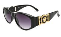 italienische gläser großhandel-Heiße Verkaufsart und weise neue Artquadratfrauen-Sonnenbrille italienische Markendesigner 9918 Männer Sonnenbrillen, die Sporenbrillen fahren