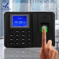 ingrosso orologio del registratore di presenza-1000Fingerprint Users 2.4 TFT Biometric Fingerprint Time Presenze Clock Nessun bisogno Software Employee Payroll Recorder Facile da usare