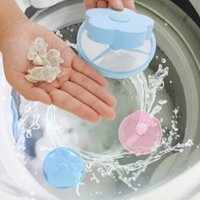 blauer stopper großhandel-Universal-Kunststoff-Filterbeutel Dekontaminationsgerät Waschmaschine Reinigung Percolator Mesh Filterung Haarentfernung Stopper Catchers Pink Blue