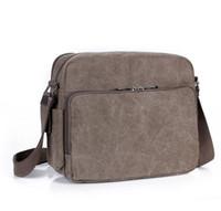 ingrosso borse di marca cinesi-High-end di qualità nuovo arrivo Cina Marca Classic designer moda uomo in pelle borse a tracolla messenger borse sacchetto di scuola dovrebbe