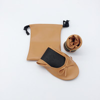 Wholesale party shoes foldable for sale - Group buy Beautfiul cheap rolling foldable shoes for wedding party