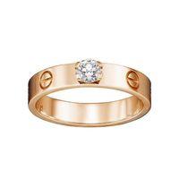conjuntos de jóias de pedra branca venda por atacado-Famoso designer de marca anel de prata esterlina 925 anel de diamante casais se casar contratado carta de luxo anel presente