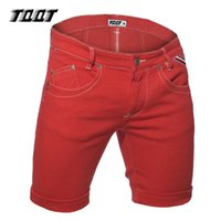 джинсы цветные мужские оптовых-TQQT man jeans midweight slim short jeans straight low waist calf length short solid colored plus size 5P0572