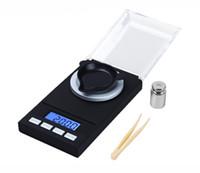 jóias escalas digitais venda por atacado-2019 Novo designer de Mini Escala de Jóias 0.001g de Alta Precisão Balança de Bolso Backlight Para Ferramentas De Pond Weighting Jóias de fumar