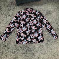 ingrosso stampa di fiori di prugne-2019 magliette del progettista degli uomini Camicie delle macchine di lusso Vestiti nudi della stampa del fiore della prugna a maniche corte Camicie delle donne Uomini Donne Etichetta di alta qualità Nuovo