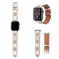 dayanıklı saatler toptan satış-Iwatch bantları için bilezik 42mm 38mm Tasarımcı İş Rahat Apple Watch Band için El Döngüler Dayanıklı Düzenlenebilir İzle Bilek Kayışı İzle Hattı
