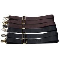 schwarze lange riemenschultertaschen großhandel-3 Metallfarben! Lange verstellbare 38mm Ersatz-Schultergurte für Herrenhandtaschen, Taschen Strap Belt Black, Brown