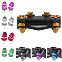 Wholesale ps4 trigger springs for sale - Group buy 8 Colors Metal Aluminum L1 R1 L2 R2 Trigger Buttons for PS4 Controllers JDM001 JDM011 Alloy Button with Springs DHL FEDEX EMS